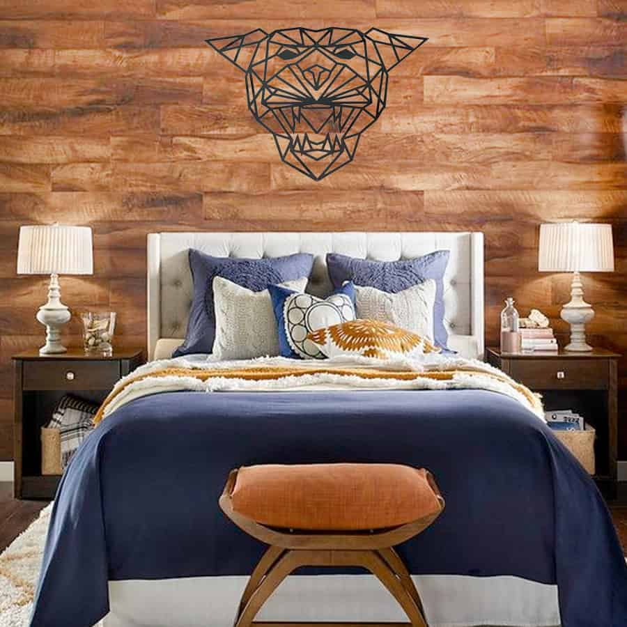 Wall Decoration – steal tiger